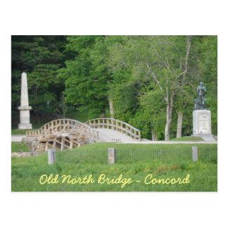 Old North Bridge, Concord, MA Postcard