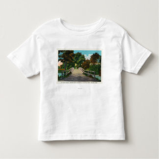 Old North Bridge View of Minute Man Statue # 2 Toddler T-shirt
