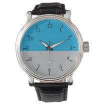 Old North Charlotte Silver Wrist Watch