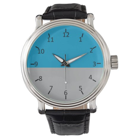 Old North Charlotte Silver Wristwatch