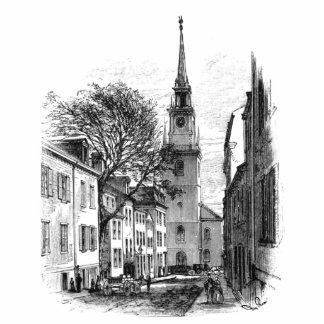 Old North Church Photo Sculpture