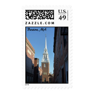 Old North Church Postage Stamps