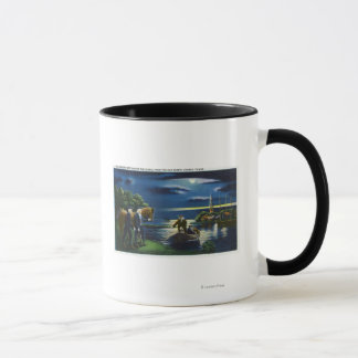 Old North Church Tower Signal Scene Mug