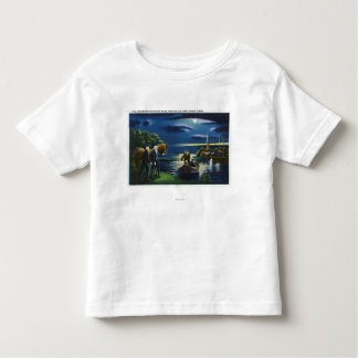 Old North Church Tower Signal Scene Toddler T-shirt