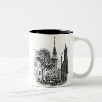Old North Church Two-Tone Coffee Mug