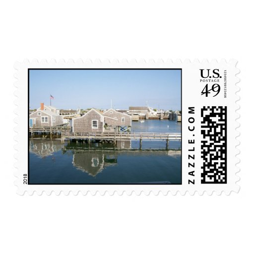 Old North Wharf Cottages Postage
