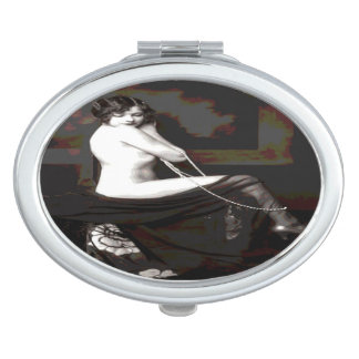 Old Nude Compact Mirror