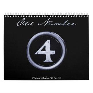 Old Number 4 Calendar