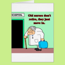 old nurses card