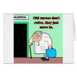 old nurses cards