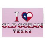Old Ocean, Texas Greeting Card