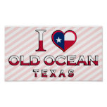 Old Ocean, Texas Print