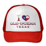 Old Ocean, Texas Trucker Hat