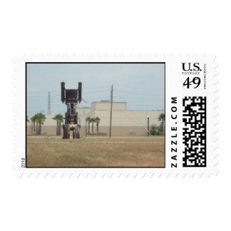 Old Oil Crane Postage