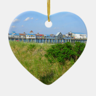 Old Orchard Beach Ceramic Ornament