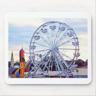 Old Orchard Beach Ferris Wheel New England Mouse Pad