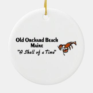 Old Orchard Beach Maine Ceramic Ornament