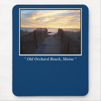 """Old Orchard Beach, Maine, """" Old Orchard Beach, ... Mouse Pad"""