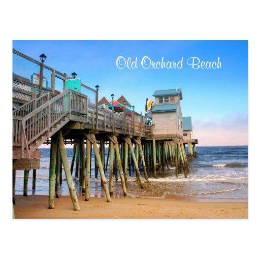 Old Orchard Beach Maine Postcard