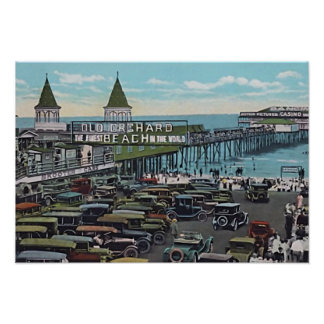 Old Orchard Beach, Maine Poster