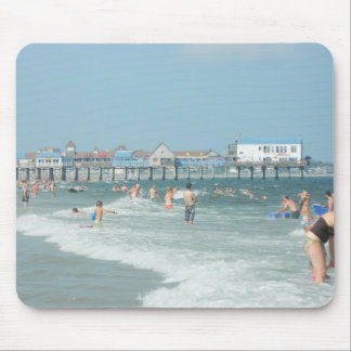 Old Orchard Beach Pier Mouse Pad