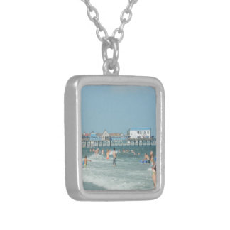 Old Orchard Beach Pier Custom Necklace