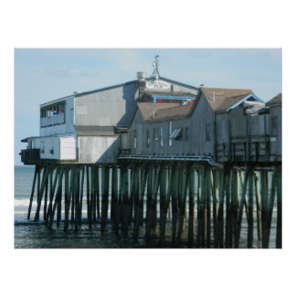 Old Orchard Beach Pier Poster