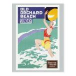 Old Orchard Beach Vintage Travel Postcard