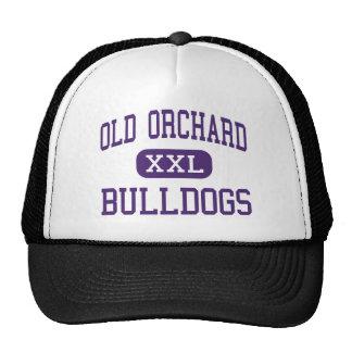 Old Orchard - Bulldogs - Junior - Skokie Illinois Trucker Hat
