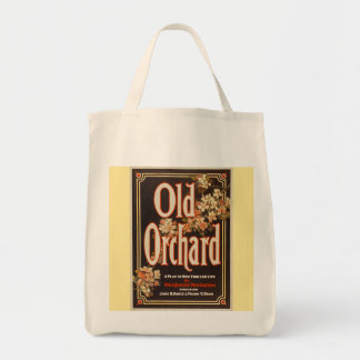 Old Orchard Grocery Tote Canvas Bags
