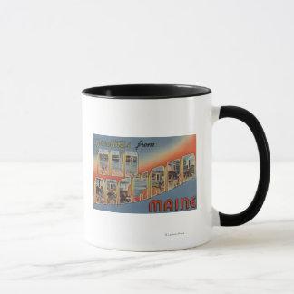 Old Orchard, Maine - Large Letter Scenes Mug