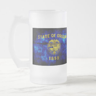 Old Oregon Flag; Mug