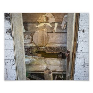 Old Outhouse - Photography Print