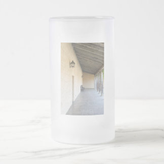 Old Outside Corridor Frosted Glass Beer Mug