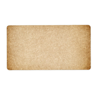 Old Packaging Paper With Stripes For Background Shipping Label