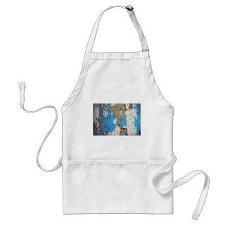 Old Painted Wood Aprons