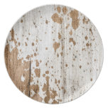 Old painted wood background plates