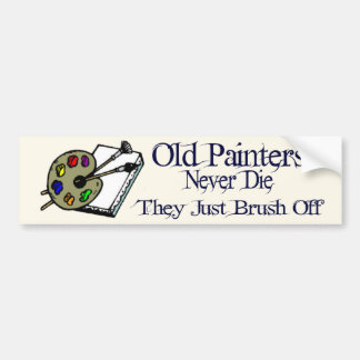 Old Painters Bumper Sticker