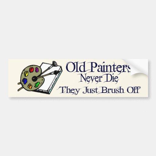 Old Painters Bumper Sticker