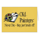 Old Painters Card