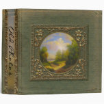 Old Painting Riverbend Personalized Spine Binder