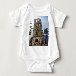 Old Panama WaterColor Baby Bodysuit