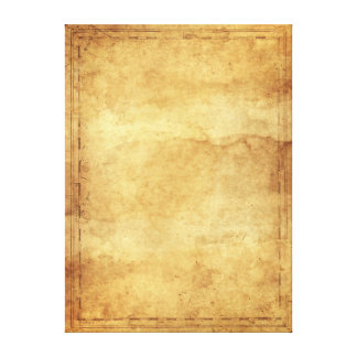 Old paper wrapped canvas prints zazzle for Newspaper canvas art