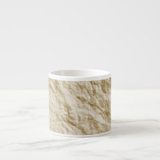 Old Paper Background Espresso Cup
