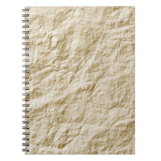 Old Paper Background Notebook