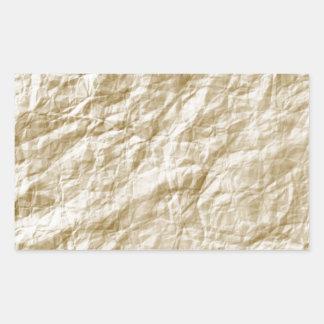 Old Paper Background Rectangular Sticker