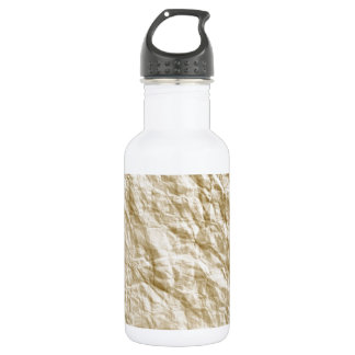 Old Paper Background Water Bottle