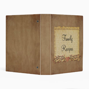 primitive album avery recipe binders keep your recipes organized