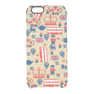 Old Paper UK iPhone 6 Clearly Case