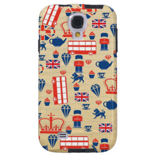 Old Paper UK Samsung Galaxy S4 Tough Case